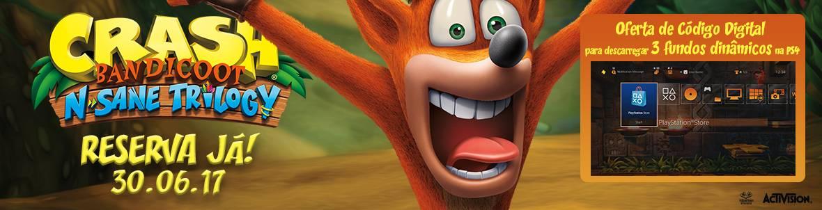 Crash Bandicoot: N. Sane Trilogy - Reserva Já