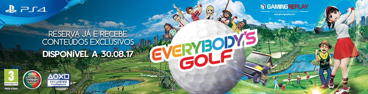 Everybody's Golf em reserva